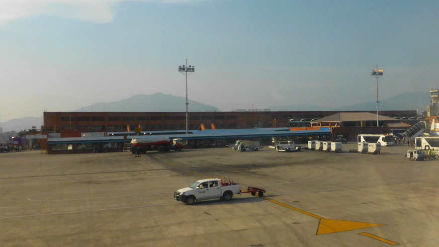 Tribhuvan International Airport, Kathmandu