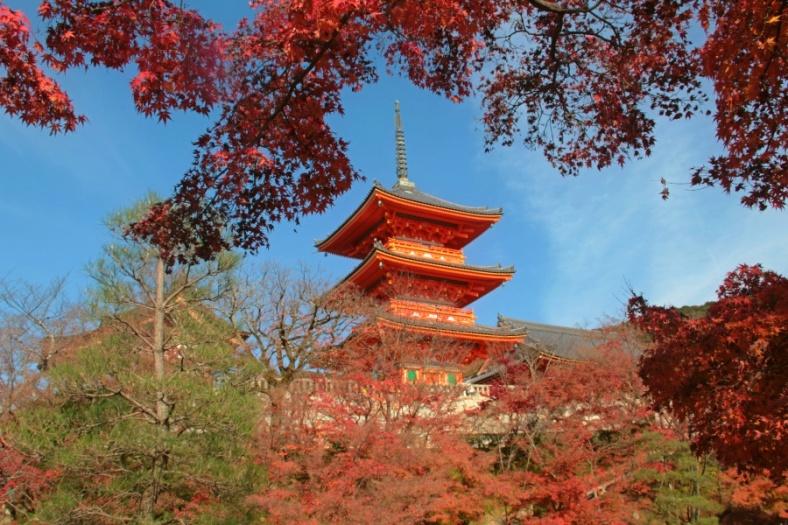 The Pagoda of Kiyomizudera