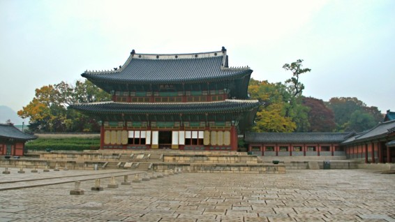 Injeongjeon, the Throne Hall