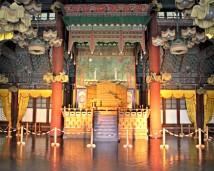 The Throne inside Injeongjeon