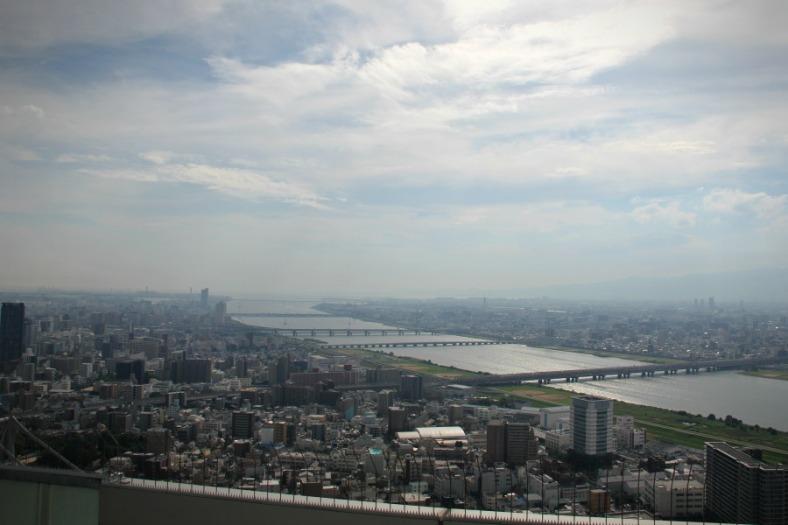 Osaka from Umeda
