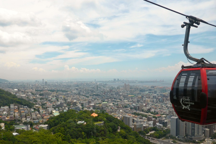 View of Kobe - from the Cable Car