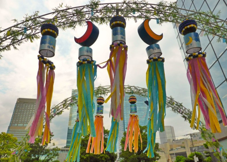 Welcoming Tanabata Festival