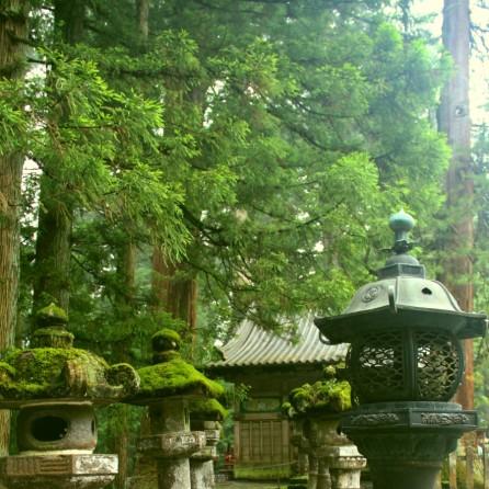 A temple at Nikko, Japan