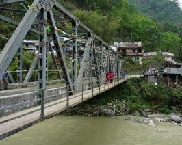 A Bridge over Modi Khola