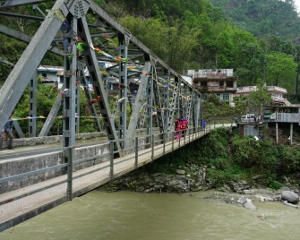 A Bridge over Modi Khola