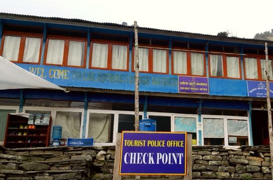 Ghorephani Checkpoint