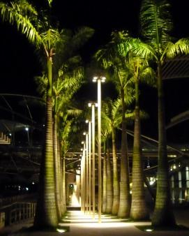Almost Midnight At Marina Bay