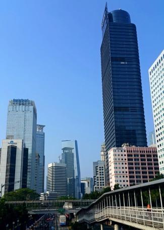 Jakarta's Skyscrappers