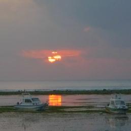 Heavy Cloudy Sunrise at Sanur - Bali