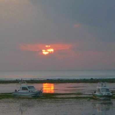 Heavy Cloudy Sunrise at Sanur - Bali