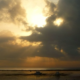 Go away... clouds - at Sanur - Bali