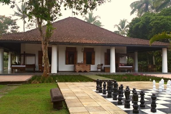 Mesastila - Main Building for Entrance