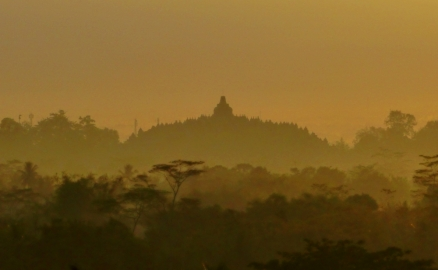 Borobudur, Like a Painting