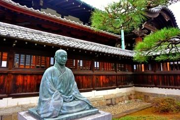 The Statue of late Sawaki Kodo Roshi