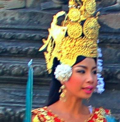 A Dancer in Angkor Wat