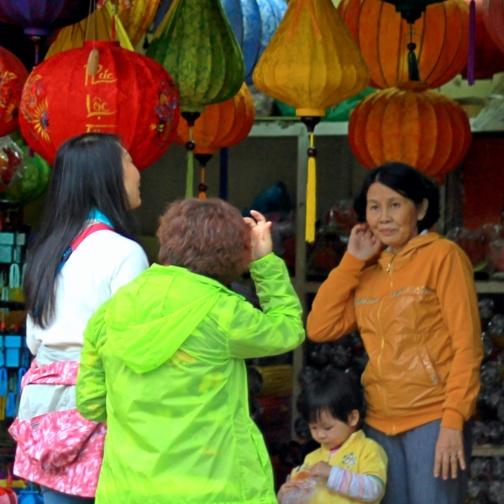 At a Kiosk, Hoi An, Vietnam
