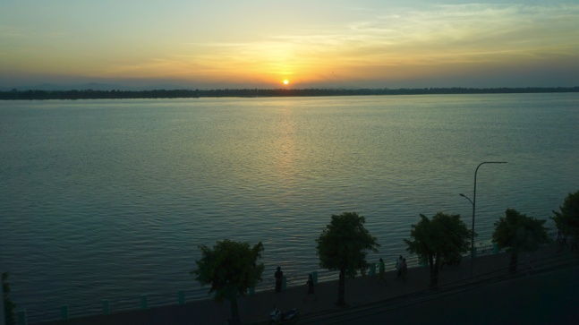 Sunset at Mawlamyine