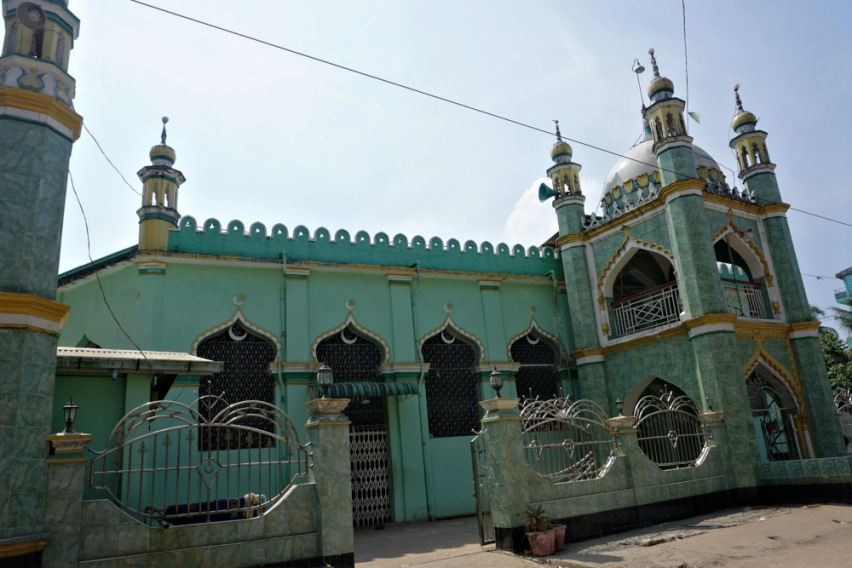 A Sunni Masjid in the Muslim Village, Mawlamyine