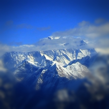 Only A Point of Everest's Peak