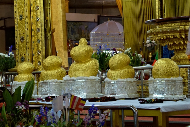 5 Buddha Images in Phaung Daw Oo, Inle Lake, Myanmar