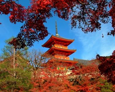 Kiyomizudera at Autumn
