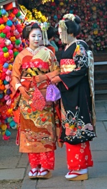 Japanese traditional dress
