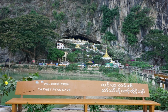Yathaypyan Cave from a far