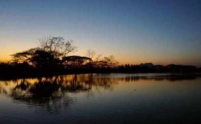 Kyauk Kalap around sunset