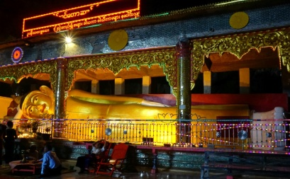 Reclining Buddha in Saddan Cave
