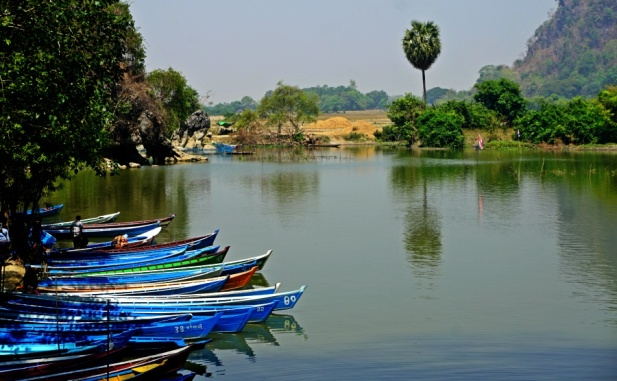 The Pond in Saddan Cave