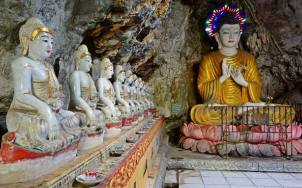 Main Chamber of Kaw Ka Thaung Cave