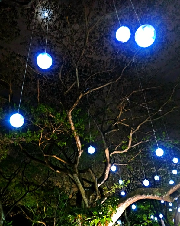 Hanging Lamps at Orchard Road, Singapore