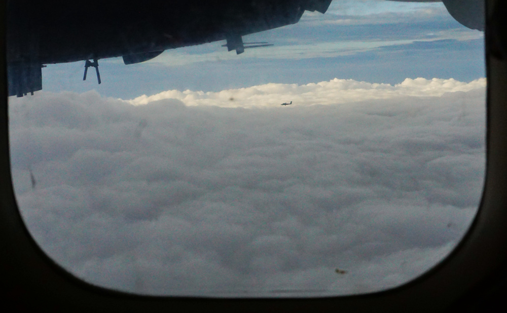 clouds to lukla