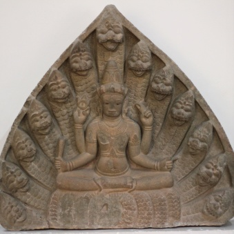 Vishnu Sitting on Ananta