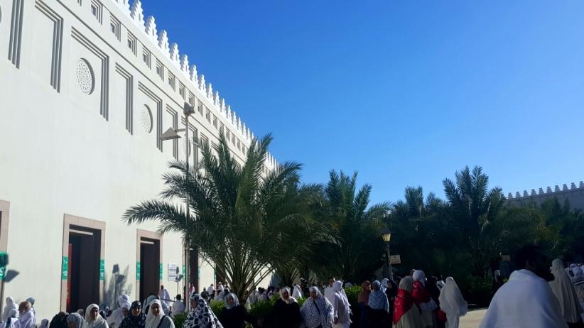 Mengambil Miqat di Masjid Bir Ali