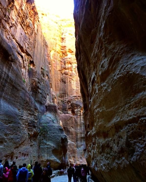 The Siq, way to Petra, Jordan