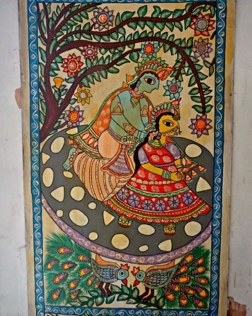 A Painting in Janaki Temple