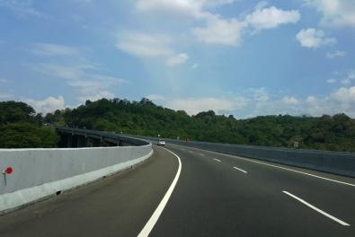 Keindahan Jalan Tol Selepas Semarang