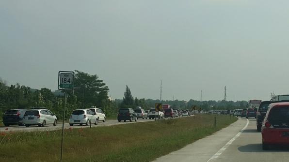 Kemacetan Arus Balik di Cipali